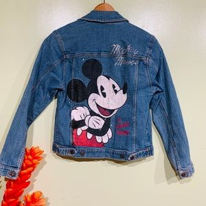 Mickey Mouse Disney Store Exclusive  Jeans Jacket